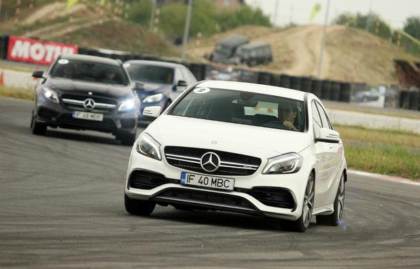 FOTOREPORTAJ: O zi cu modelele Mercedes-Benz pe circuit - Poza 13