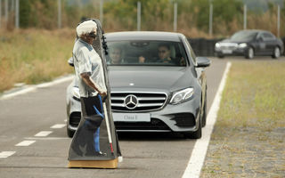 FOTOREPORTAJ: O zi cu modelele Mercedes-Benz pe circuit