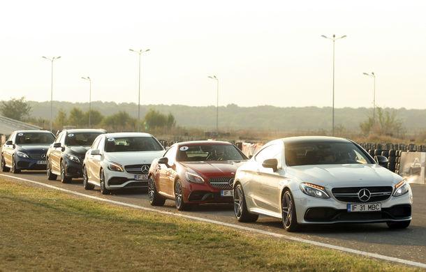 FOTOREPORTAJ: O zi cu modelele Mercedes-Benz pe circuit - Poza 11