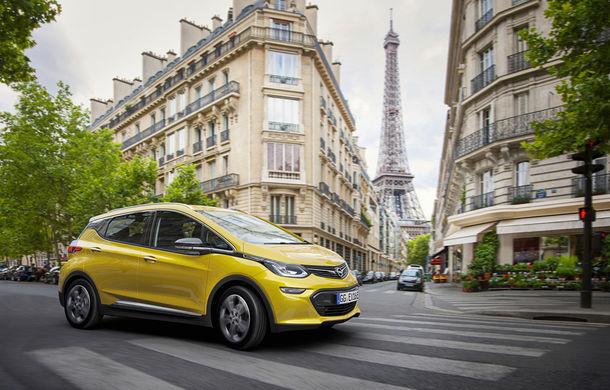 """Autonomia nu mai e (neapărat) o problemă: Opel Ampera-e anunță 500 de kilometri cu un """"plin"""" de baterii - Poza 1"""