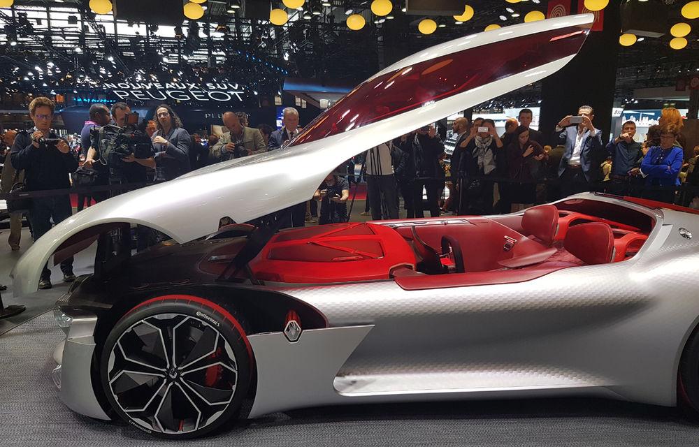 PARIS 2016 LIVE: Standul Renault, între conceptul futurist Trezor, electricul Zoe și practicul Megane Sedan - Poza 6