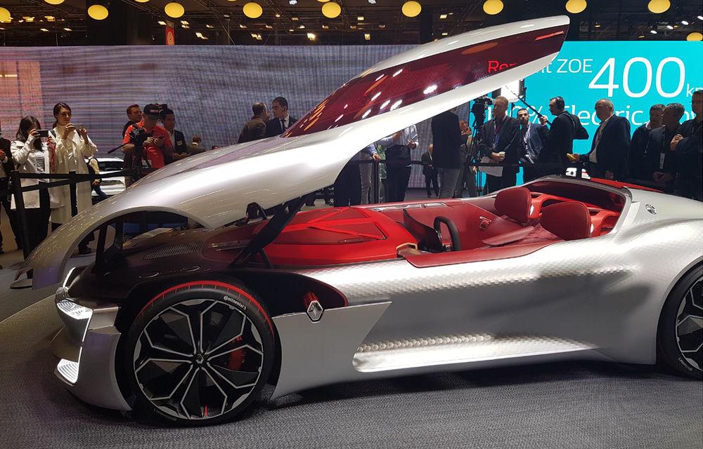 PARIS 2016 LIVE: Standul Renault, între conceptul futurist Trezor, electricul Zoe și practicul Megane Sedan - Poza 3
