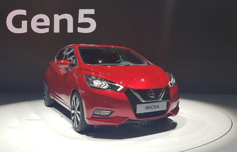 PARIS 2016 LIVE: Noul Micra a avut exclusivitatea întregului stand Nissan - Poza 3