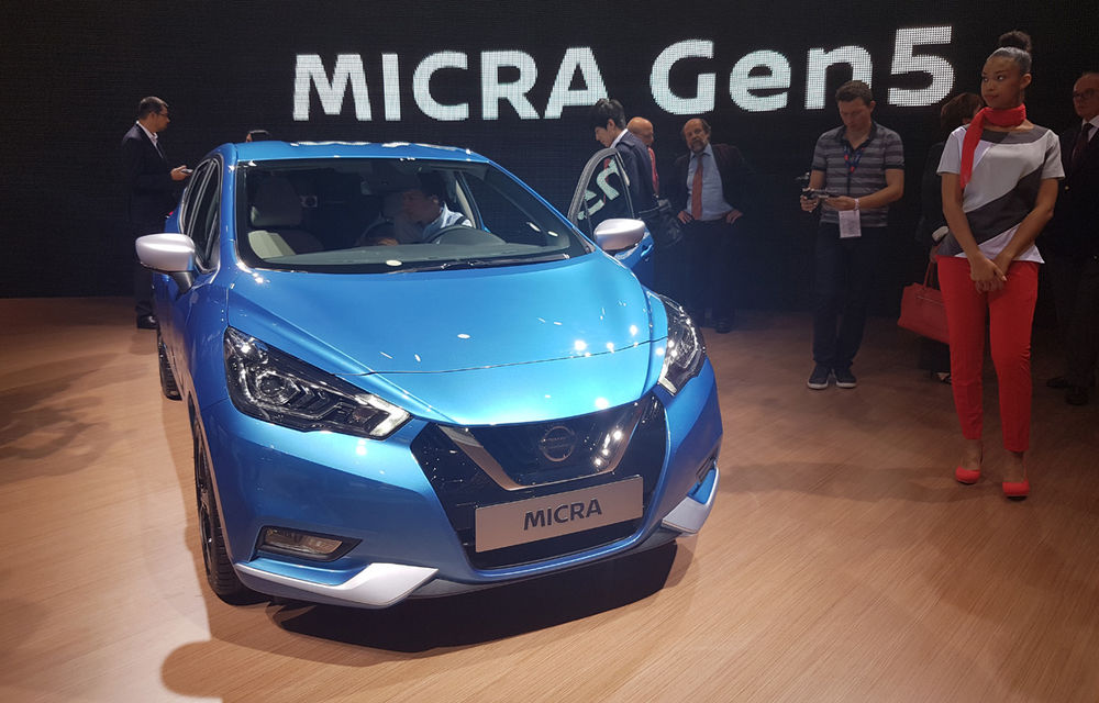 PARIS 2016 LIVE: Noul Micra a avut exclusivitatea întregului stand Nissan - Poza 11