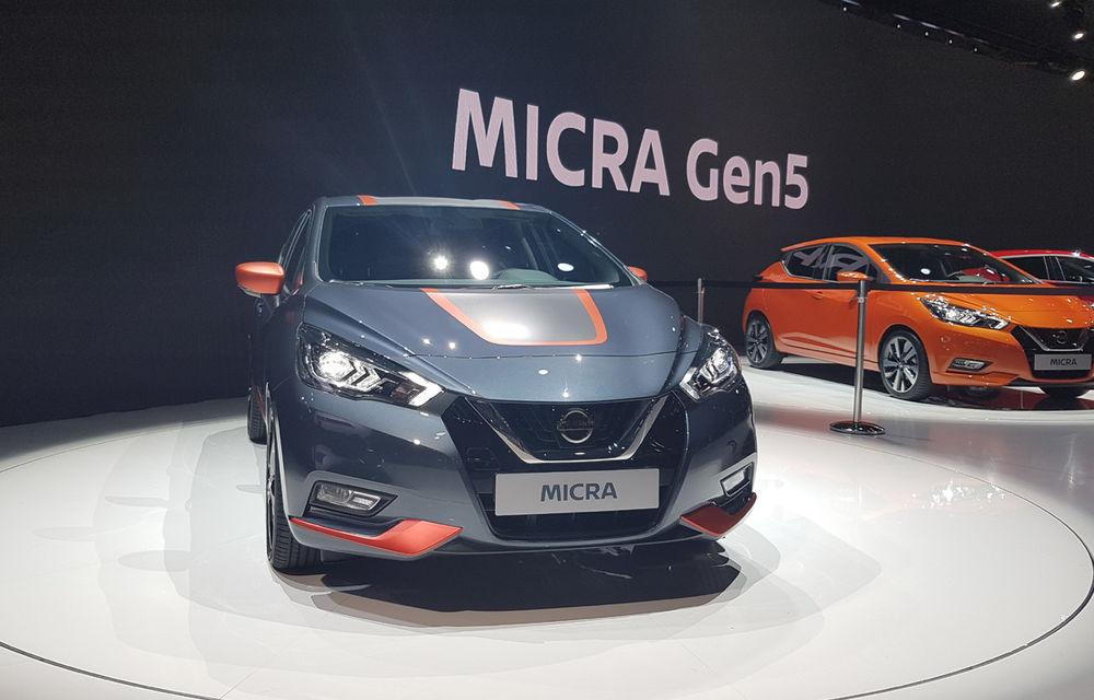 PARIS 2016 LIVE: Noul Micra a avut exclusivitatea întregului stand Nissan - Poza 13
