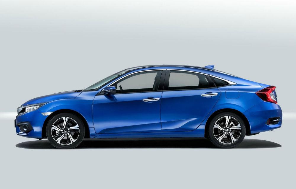 Cu dedicație pentru familie: noua generație Honda Civic Sedan a fost prezentată la Paris - Poza 1