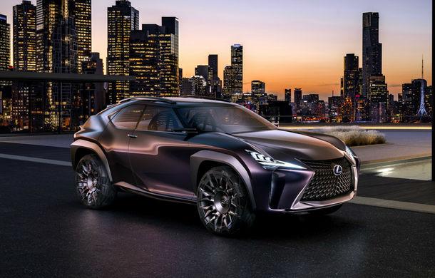 Când designul e împins la limită: Lexus UX Concept anunță tehnologii noi și (probabil) un SUV subcompact - Poza 1