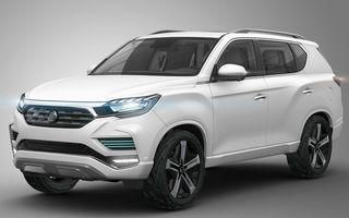 Ssangyong renaște: conceptul LIV-2 anunță viitoarea generație a SUV-ului Rexton