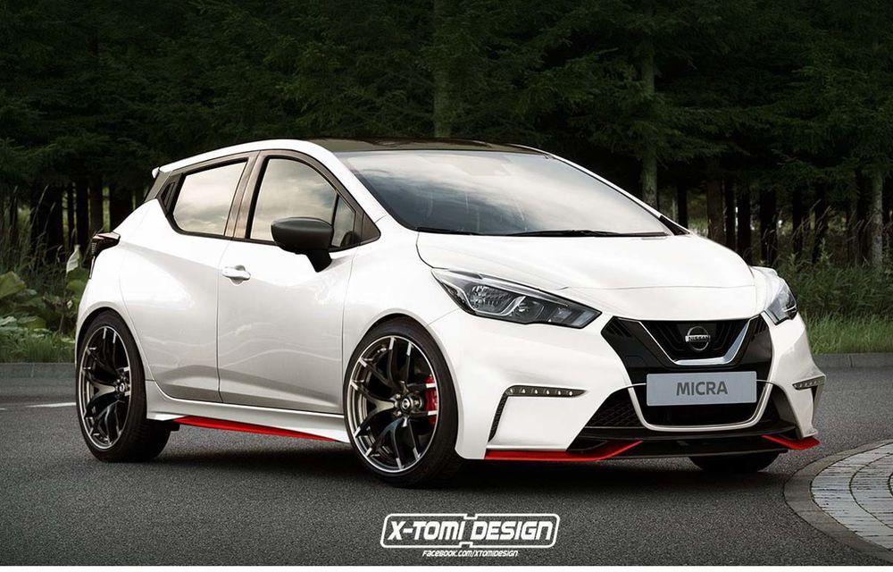 Ipoteze de design: Nissan Micra Nismo încinge gama mărcii ...