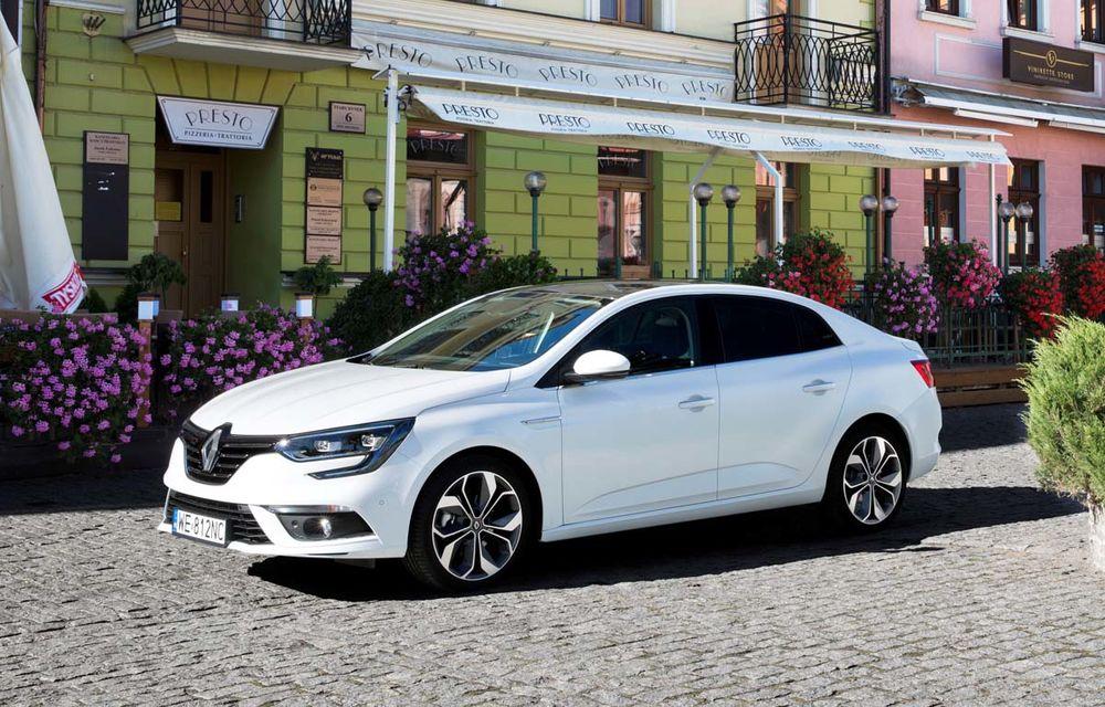 Prețurile noului Renault Megane Sedan în România: start de la 14.800 de euro - Poza 1