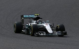 Rosberg îl învinge pe Hamilton în lupta pentru pole din Japonia. Vettel, doar locul 7