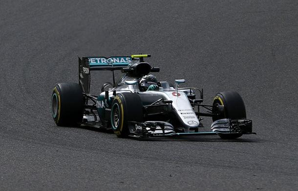 Rosberg îl învinge pe Hamilton în lupta pentru pole din Japonia. Vettel, doar locul 7 - Poza 1