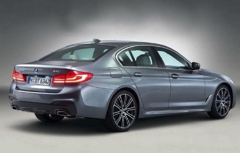 """Dezvăluit înainte de vreme: noul BMW Seria 5, trădat de imagini """"scăpate"""" pe net - Poza 2"""