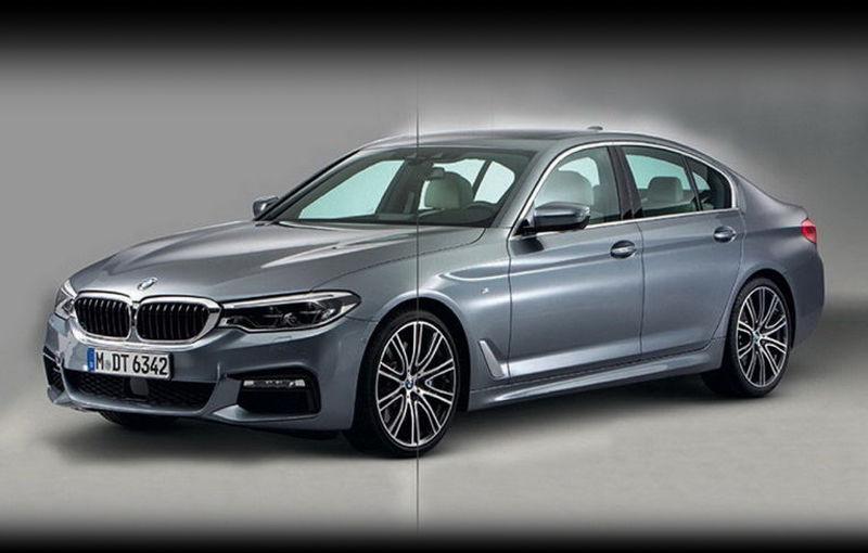 """Dezvăluit înainte de vreme: noul BMW Seria 5, trădat de imagini """"scăpate"""" pe net - Poza 1"""