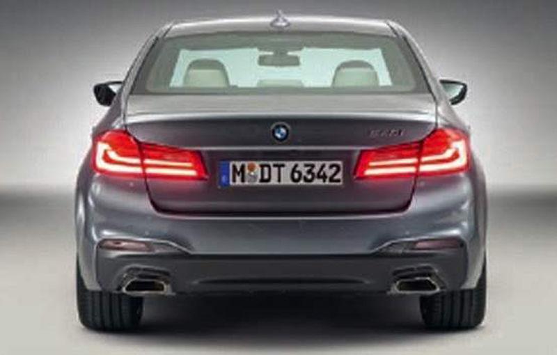"""Dezvăluit înainte de vreme: noul BMW Seria 5, trădat de imagini """"scăpate"""" pe net - Poza 3"""