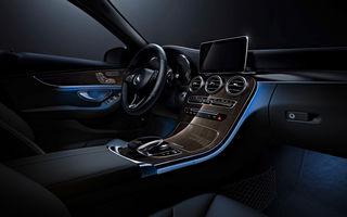 Mercedes Clasa C primește aere de Clasa S: iluminare, insonorizare și scaune mai confortabile