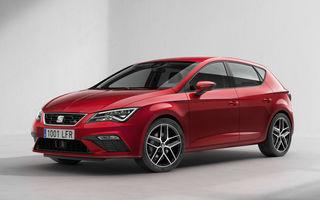 Seat Leon facelift: compacta spaniolă primeşte două motorizări noi de 115 CP şi mai multă tehnologie