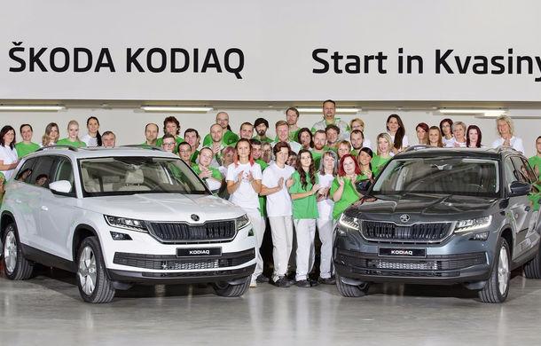 Începe o nouă era pentru cehi: primele exemplare Skoda Kodiaq s-au născut la uzina din Kvasiny - Poza 2