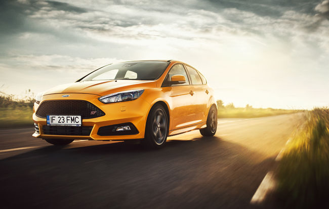 Test drive Ford Focus facelift (2016-2018)