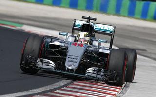 Hamilton câştigă prima luptă cu Rosberg şi va pleca din pole position în Statele Unite. Red Bull învinge Ferrari