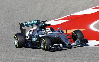 Hamilton redescoperă reţeta succesului şi câştigă în SUA. Rosberg şi Ricciardo completează podiumul