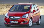 Opel renunţă la monovolume: Meriva şi Zafira vor fi transformate în crossover şi SUV