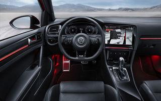 Burdușit cu tehnologie: noul VW Golf 7 facelift vine în noiembrie cu un interior complet modificat și motoare noi