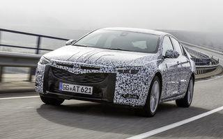 Noua generație Opel Insignia vine în 2017. Mai mare, mai ușoară și cu un nume ușor schimbat: Insignia Grand Sport