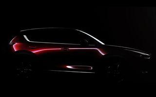 Mazda își ascute sabia pentru o nouă confruntare: prima imagine a noii generații CX-5