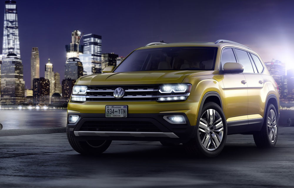Faceți cunoștință cu Volkswagen Atlas, un SUV cu șapte locuri, fratele mai mare al lui Touareg - Poza 1