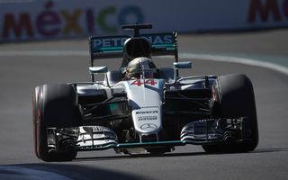 Speranța moare ultima: Hamilton câștigă în Mexic în fața lui Rosberg și rămâne în cursa pentru titlu