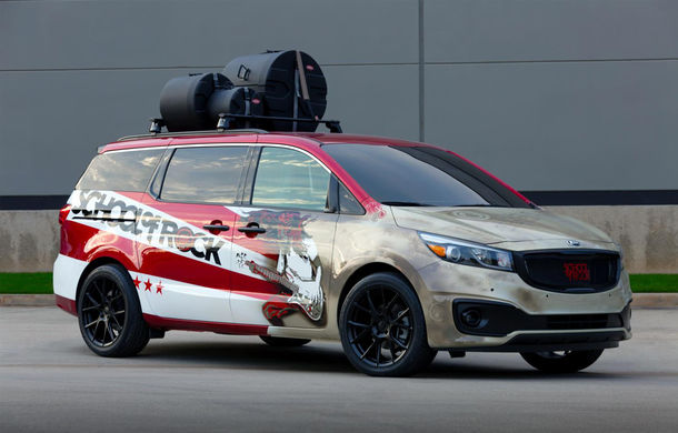 Exerciţiu de imaginaţie: cum ar arăta maşinile Kia dacă ar fi autonome - Poza 4