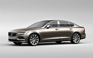 Cererea pentru Volvo XC90 trimite S90 în China: sedanul va fi produs la Daqing pentru că nu mai are loc în fabrica din Suedia