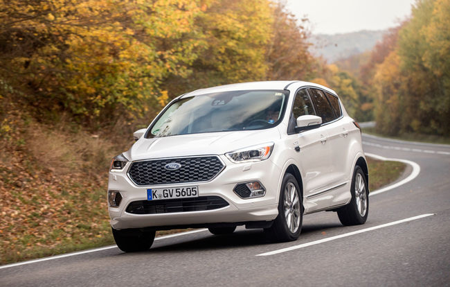 Test drive Ford Kuga facelift