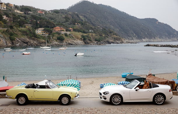 Fiat 124 Spider sărbătorește 50 de ani de la nașterea strămoșului său - Poza 9