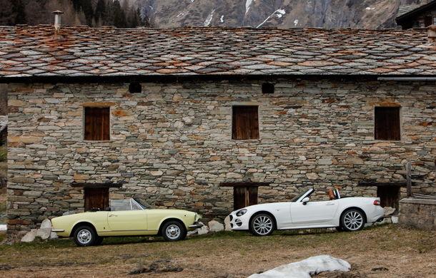 Fiat 124 Spider sărbătorește 50 de ani de la nașterea strămoșului său - Poza 15