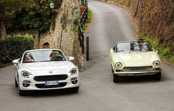 Fiat 124 Spider sărbătorește 50 de ani de la nașterea strămoșului său - Poza 1