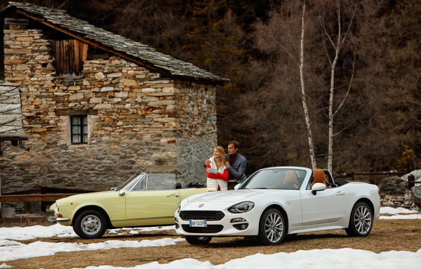 Fiat 124 Spider sărbătorește 50 de ani de la nașterea strămoșului său - Poza 14