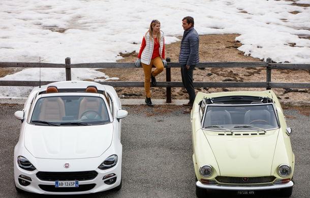 Fiat 124 Spider sărbătorește 50 de ani de la nașterea strămoșului său - Poza 13