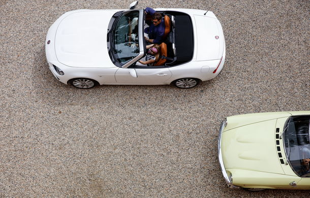 Fiat 124 Spider sărbătorește 50 de ani de la nașterea strămoșului său - Poza 3