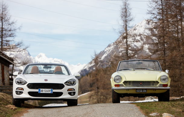 Fiat 124 Spider sărbătorește 50 de ani de la nașterea strămoșului său - Poza 12