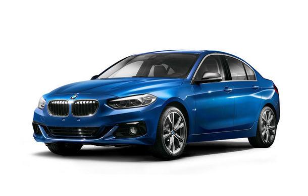 Nu atingeți exponatele: BMW Seria 1 Sedan este rivalul pe care Audi A3 Sedan nu-l va avea în Europa - Poza 1