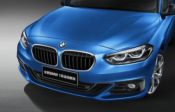 Nu atingeți exponatele: BMW Seria 1 Sedan este rivalul pe care Audi A3 Sedan nu-l va avea în Europa - Poza 2
