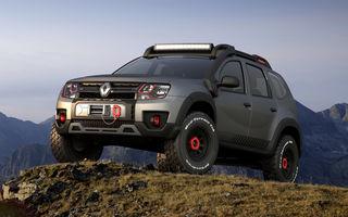 Off-roader ca la carte: Duster Extreme Concept accentuează caracterul dur al SUV-ului cu ADN românesc