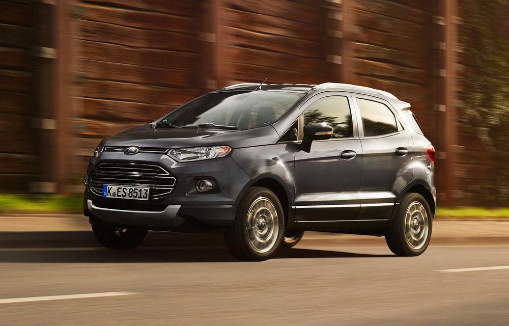 2017 este anul schimbărilor pentru Ford EcoSport: începe producția la Craiova și debutează pe piața din SUA - Poza 1