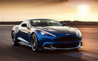 Vanquish primeşte steroizi: Aston Martin Vanquish S are motor V12 de 5.9 litri şi 588 de cai putere