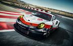 Porsche îşi ascute armele pentru Le Mans: Porsche 911 RSR are motor amplasat central de 4.0 litri şi 510 cai putere