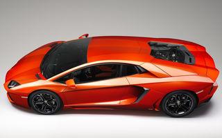 Lamborghini Aventador îşi schimbă şi părul, şi năravul: facelift-ul va primi sufixul S şi va avea un motor mai puternic