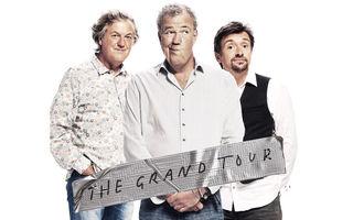 The Grand Tour, noul show al tripletei ex-Top Gear, a bătut recordurile de audiență Amazon la primul episod