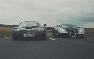 McLaren F1 sau Bugatti Veyron? O confruntare între titanii care au scris istorie în segmentul supercarurilor